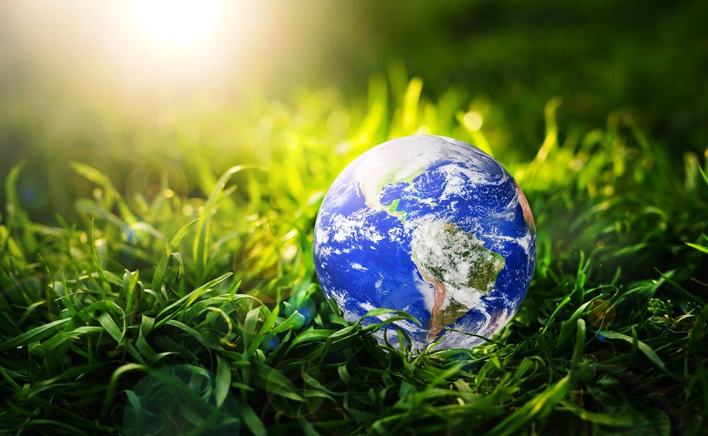 Save and protection Earth planet.